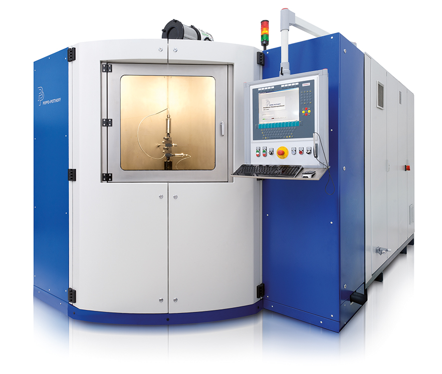High Pressure Pulsation Test Stand Impulse Test Bench with front opening test chamber